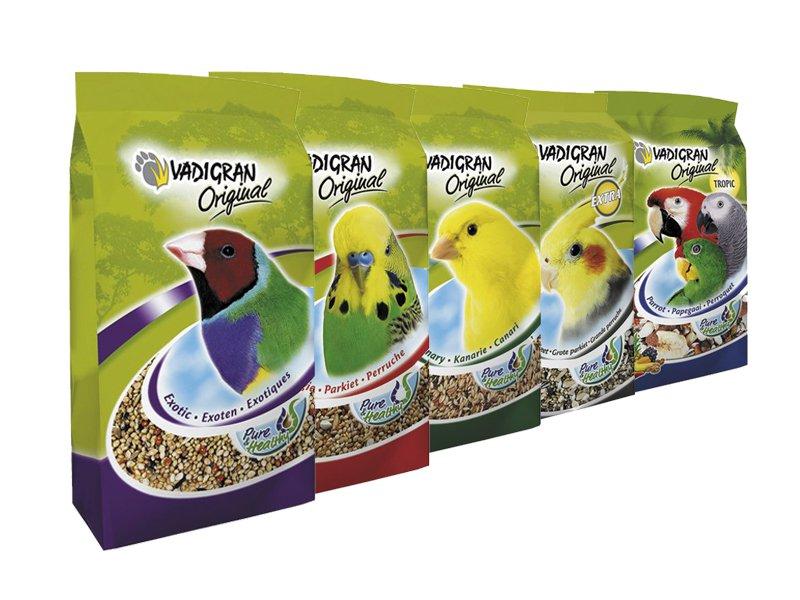 Alimentación para pájaros