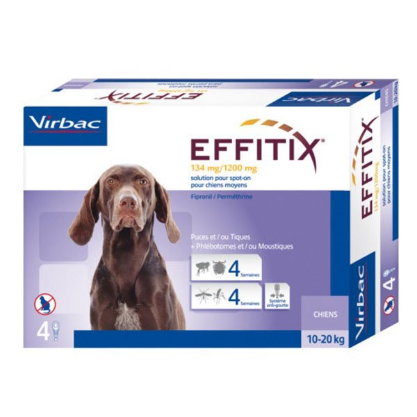 Pipeta Effitix antiparasitaria para perro (1 unidad) Girona