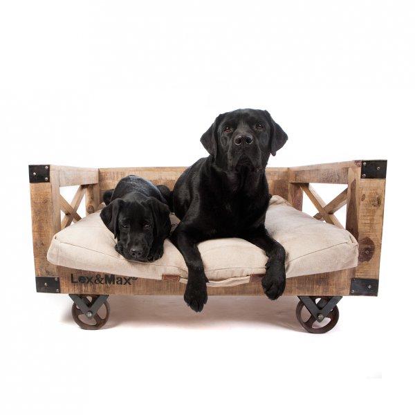Banco / Divan de madera Lex & Max Girona